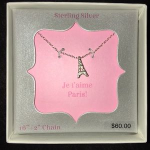 Jewelry - Eiffel Tower necklace. New in box